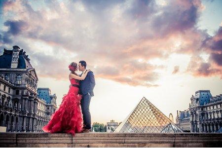 海外婚紗_ 巴黎/ 聖馬洛/ 威尼斯彩虹島