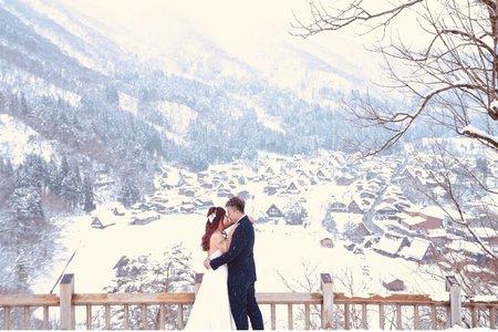 日本白川合掌村 婚紗旅拍