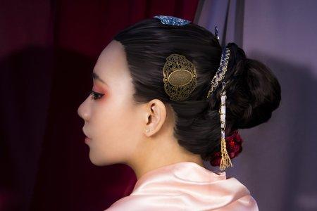150506 唐朝造型還原 指導教授:陳慷玲 髮/妝/攝影/飾品道具布景製作