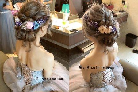 新秘小妍Nicole婚禮作品❤️Mia❤️訂結婚宴