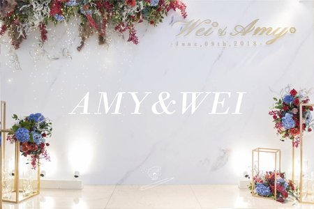 WEDDING | Amy+Wei 2018.06.09