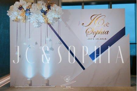 WEDDING | JC&SOPHIA 2018.10.19