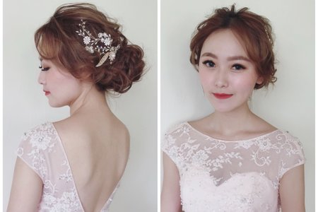 《新娘秘書-婚禮兩造型》