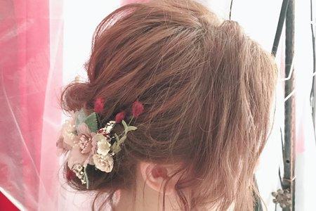 11/3 倩 短髮造型