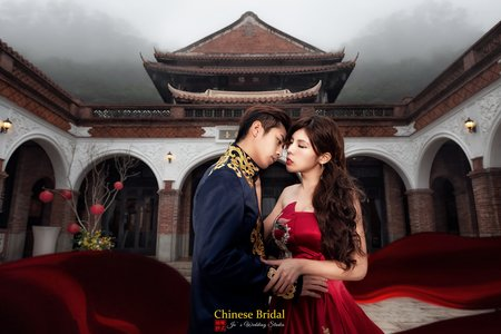 中式庭園婚紗方案