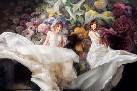 閨密婚紗純拍方案