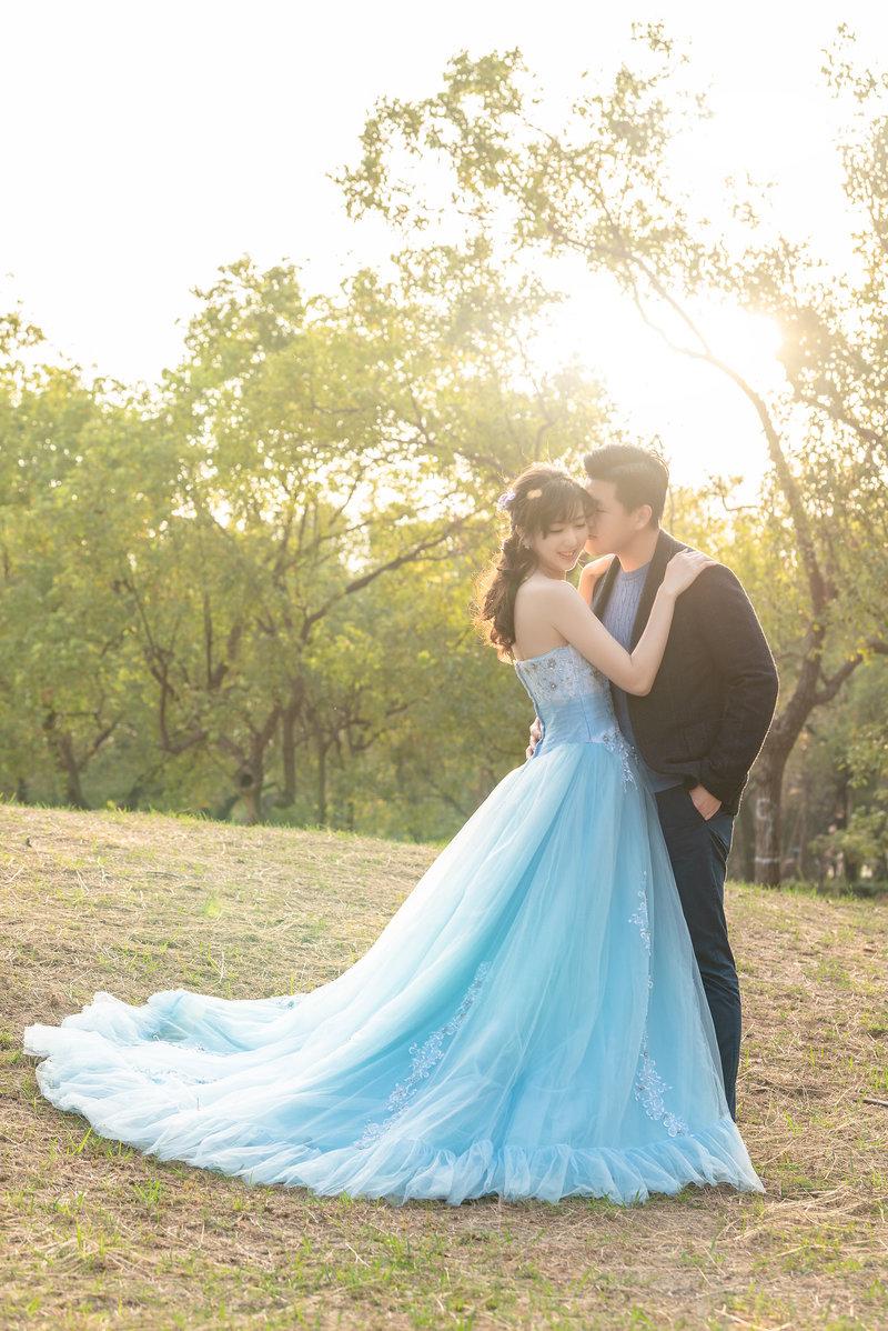婚禮當天類婚紗作品