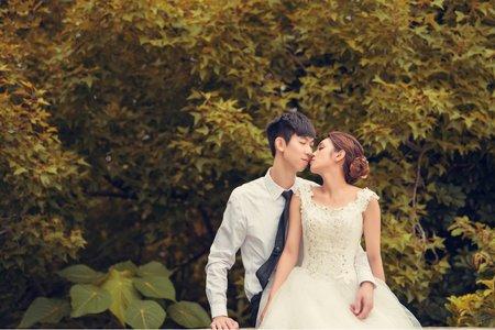 婚禮當天類婚紗