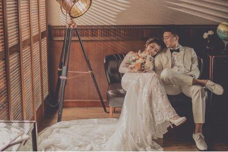 國內婚紗-彰化|海洋莉莉婚紗美學攝影室