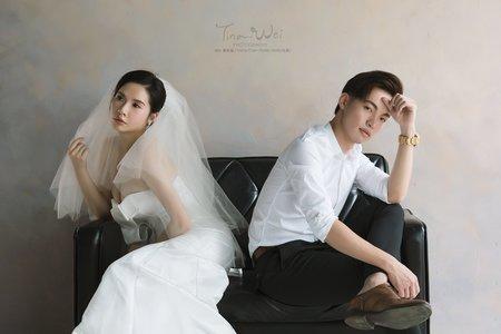 韓系婚紗拍樣