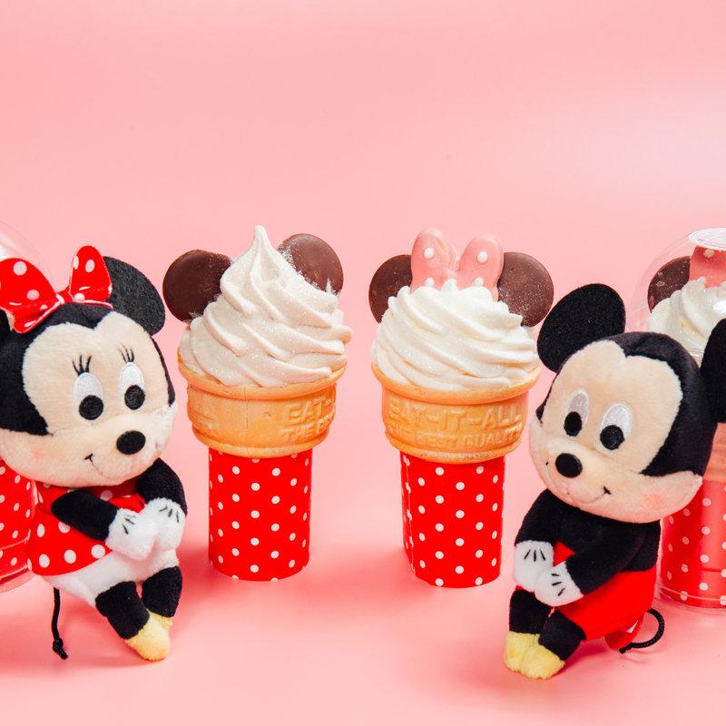 迪士尼系列-米奇米妮棉花糖冰淇淋