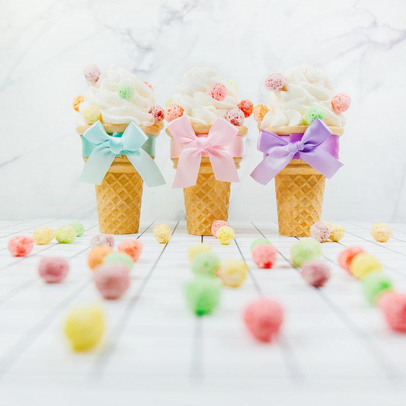 手打棉花糖冰淇淋-彩球款