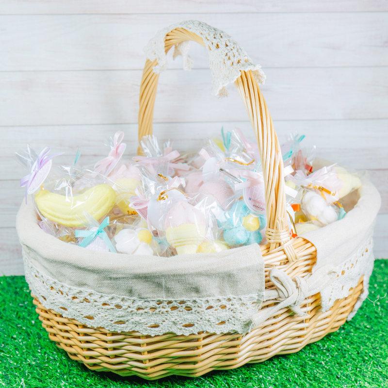 創意造型棉花糖大提籃組