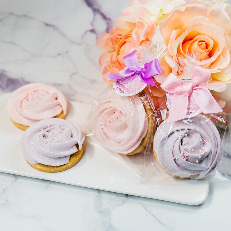 純手工玫瑰棉花糖餅乾袋裝