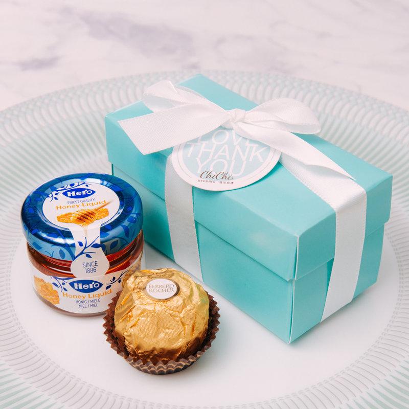 浪漫小物Tiffany喜糖盒套組(長型)