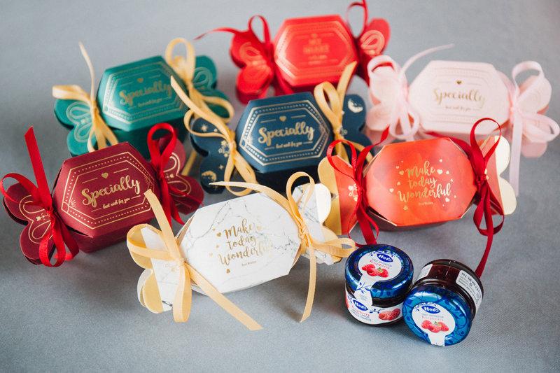 法式糖果造型喜糖盒