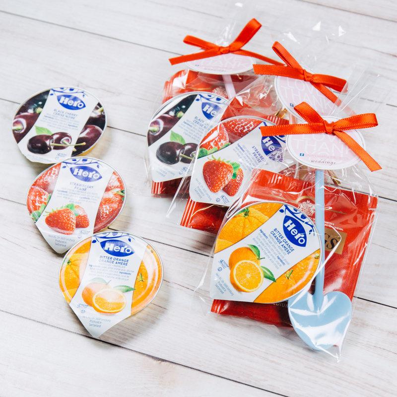 歐式婚禮小物-茶包果醬迎賓組