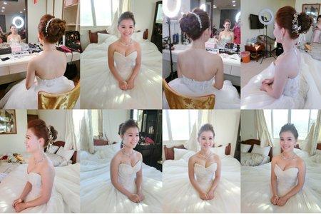 新㊙️清新自然白紗作品造型