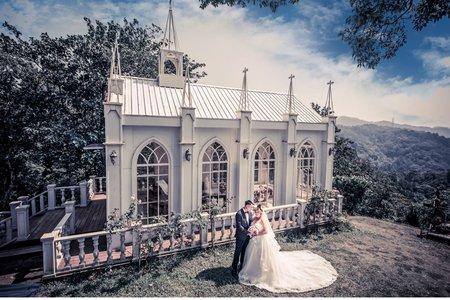 厚片新娘甜美白紗系列