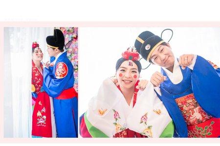 韓服婚紗禮服系列