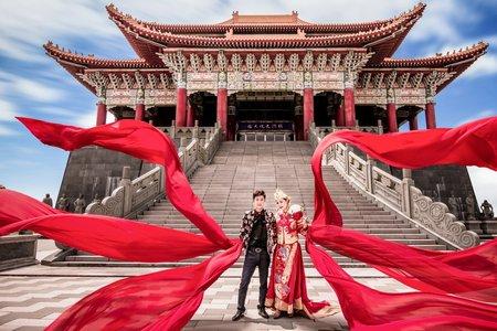 中式大甲媽祖霸氣十足婚紗特別🈯️定區域