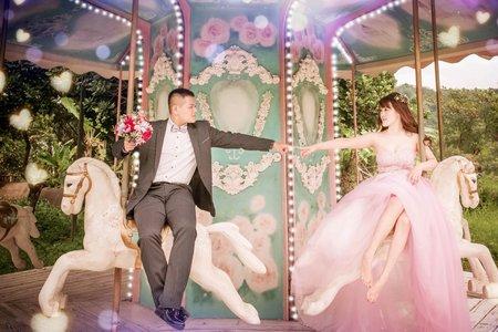 公主浪漫婚紗
