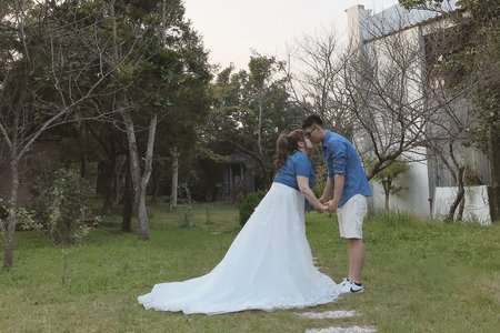 專營大尺碼婚紗&輕鬆旅拍風格/側拍幕後花絮