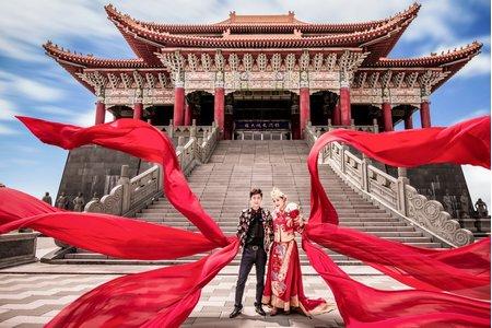 中式禮服創意婚紗