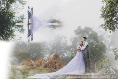 仙境💕浪漫夢幻婚紗