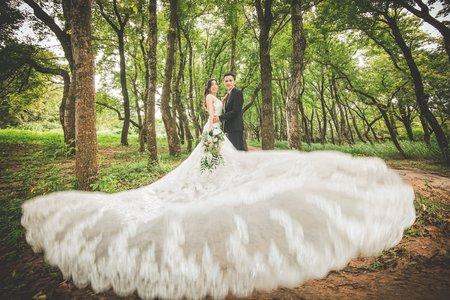平價美麗浪漫婚紗