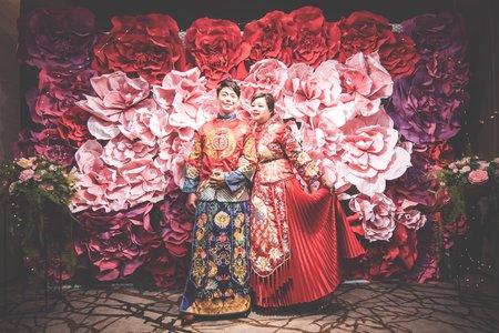 中式秀禾禮服 婚紗 婚宴