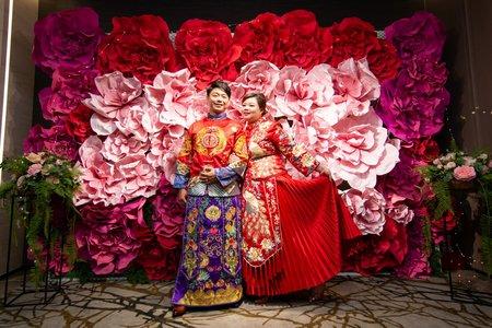 中式禮服婚紗