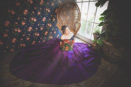 緞面禮服 婚紗攝影
