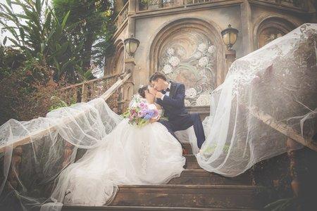 莫內秘密花園婚紗套餐
