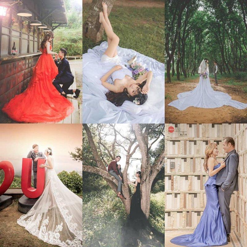小尺碼&大尺碼 婚紗作品
