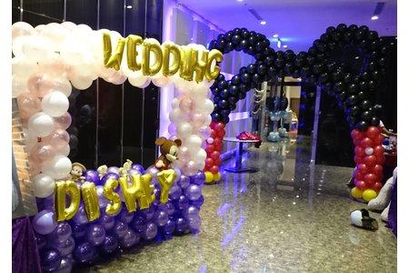 婚禮氣球佈置