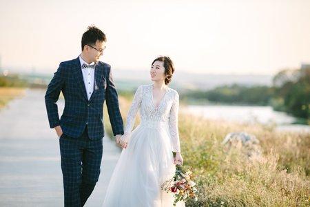 台中|輕婚紗|聖迪 + 名馥