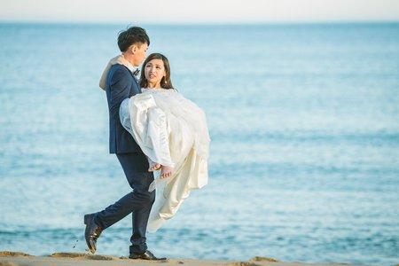 山水沙灘|澎湖婚紗|Brank + Amber