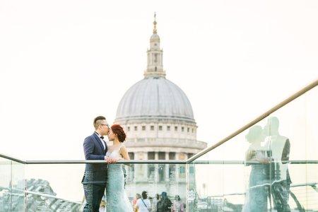 英國婚紗 | Jacky + Melissa