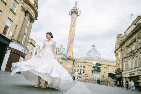 英國|Newcastle婚紗|CY + Effie