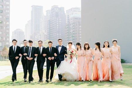 台中頂粵婚禮 | Andy + Ariel