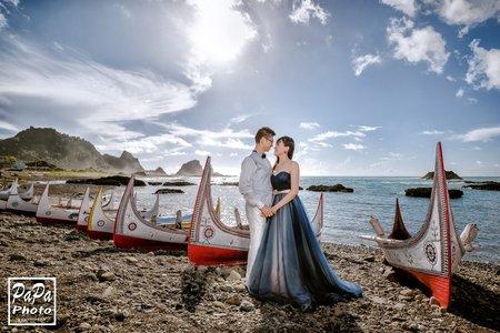 PAPA-PHOTO 來超美的蘭嶼拍婚紗/D+Holly