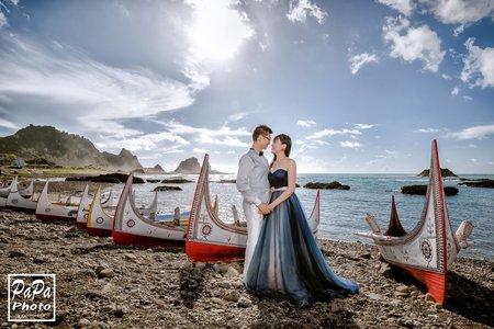 PAPA-PHOTO 超優惠蘭嶼婚紗方案