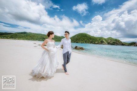 PAPA-PHOTO 邊拍邊玩沖繩婚紗