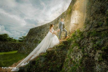 沖繩婚紗專案 PAPA-PHOTO