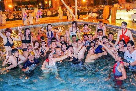 💝 高雄國賓大飯店泳池婚宴