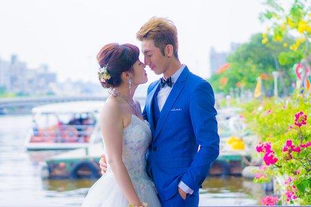 💝 高雄愛河集團婚禮 💝 景點拍攝