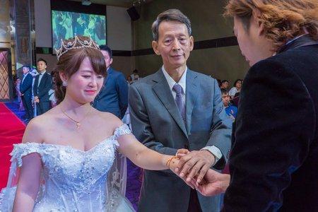 💝 高雄前鎮到富野度假酒店迎娶儀式 💝 高雄和樂宴會館晚宴