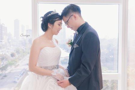 💝 高雄苓雅教會證婚儀式 💝 高雄林皇宮午宴