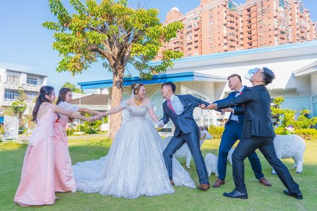 💝 嘉義迎娶儀式合照 💝 空檔景點拍攝 💝 嘉義滿福樓晚宴